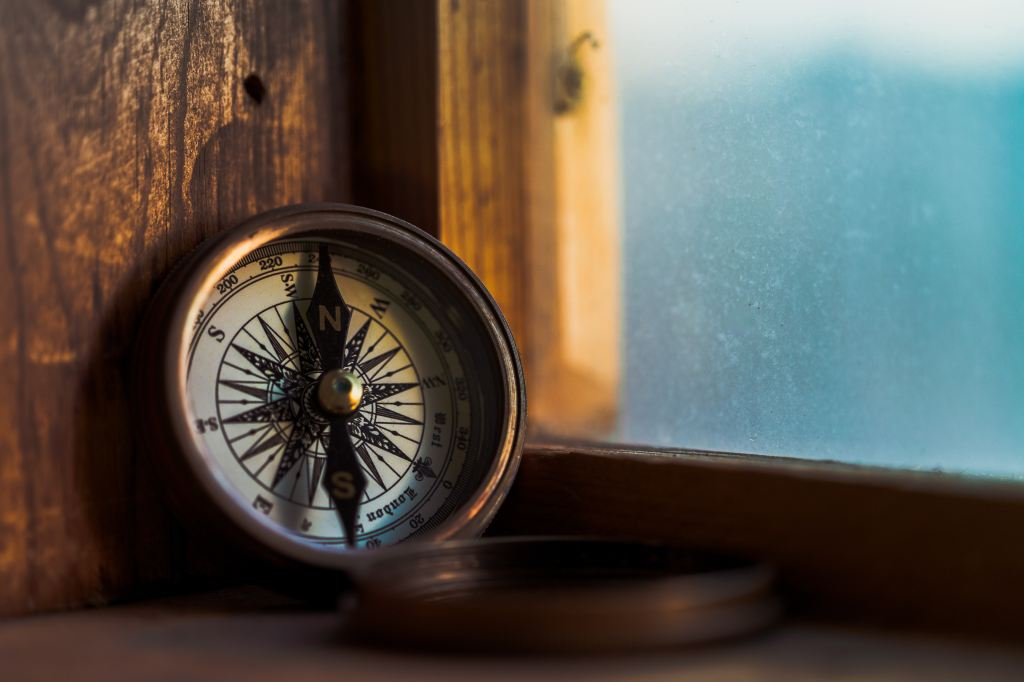 Compass Photo by Jordan Madrid on Unsplash
